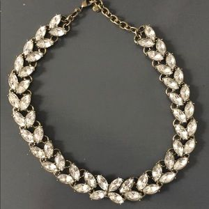Bauble bar cleared jeweled necklace